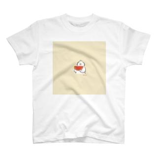 スイカとあひる T-shirts