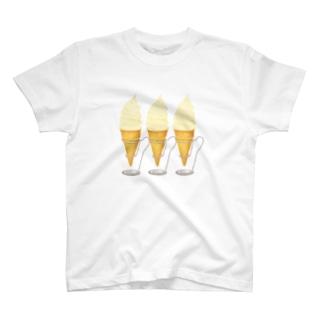 ソフトクリームスタンド T-shirts