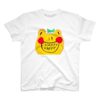 オリジナルカエルちゃんグッズ T-shirts
