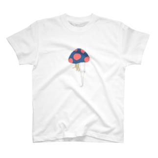 まねる、きのこ。 T-shirts