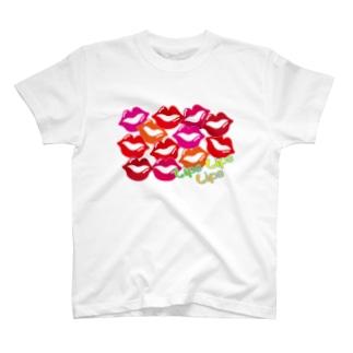 Lips Lips Lips T-shirts