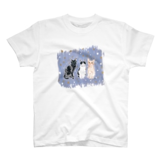 3catfriends T-shirts