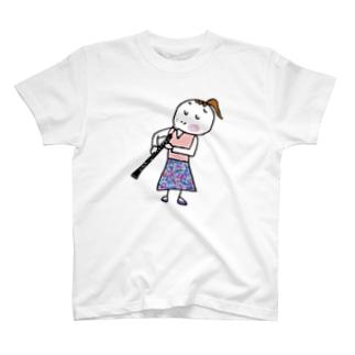 3738go オーボエ T-shirts