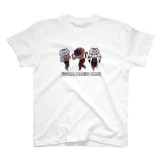 フタバマッチョマスク T-shirts