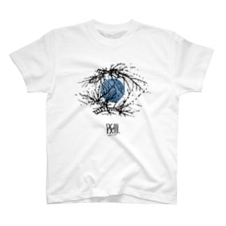 虚想 -black- T-shirts