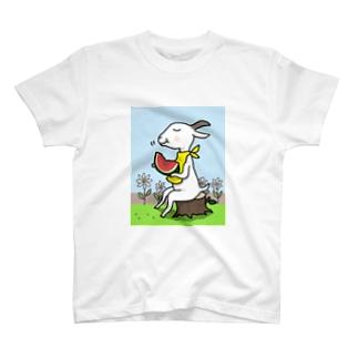 山羊さんの夏休み T-shirts