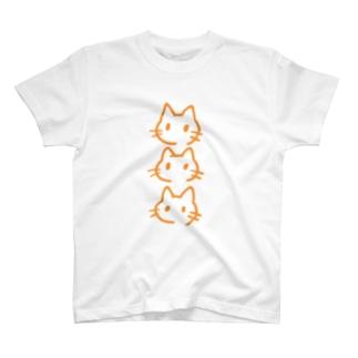 さんねこみかん T-shirts