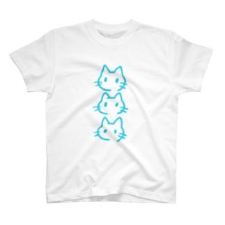 さんねこソラ T-shirts