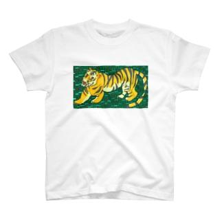 包茎タイガーたかしウーソー図。 T-shirts