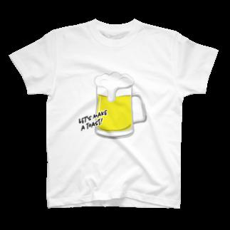 TokyoSienneの世界のみんなと「カンパイ!」🍺 T-shirts