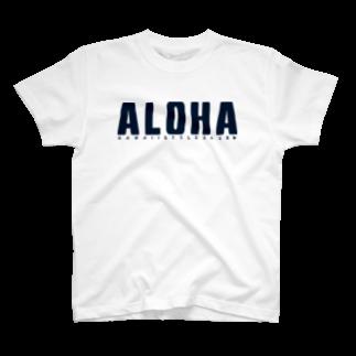 HSC ハワイスタイルクラブのJust ALOHA T-shirts