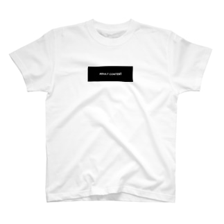 ADULTCONTENT boxlogo T T-shirts