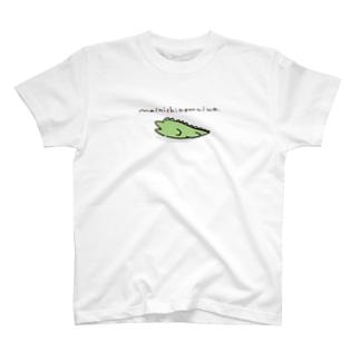 わにぶちさんのねむTee T-shirts