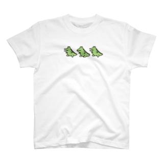 わにぶちさんの整列Tee T-shirts