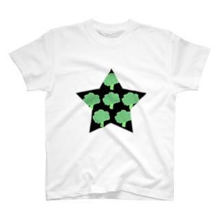 一番星(ブロッコリー) T-shirts