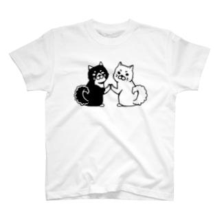 Wしばわん T-shirts