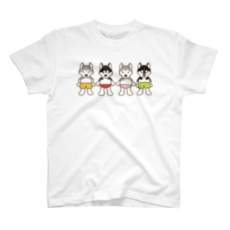 おパンツハスキー3 T-shirts
