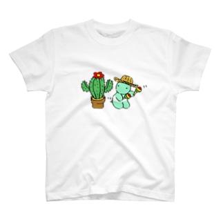しゃぼてんとダンス T-shirts