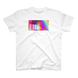 バーコードの向こう側 T-shirts