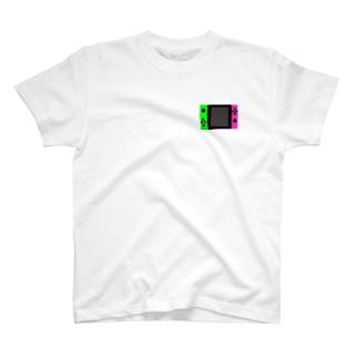 ゲーム機柄Tシャツ T-shirts