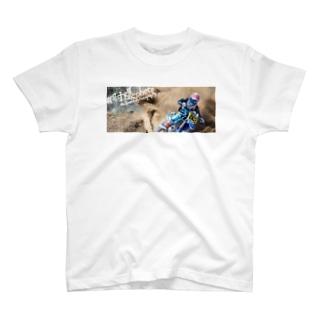 肘爆photoT Ver.RIDE Fullcolor T-shirts