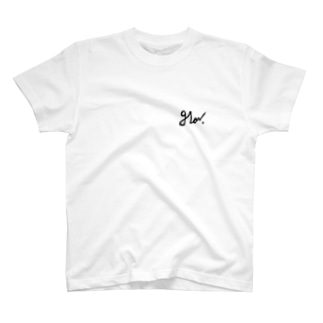 glowロゴT T-shirts