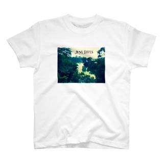 JUNE BLUES  T-shirts