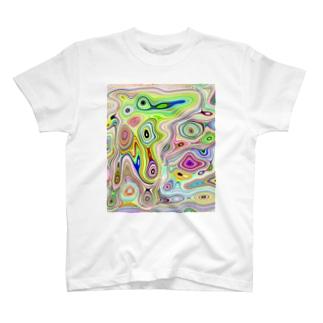 アートっぽく T-shirts