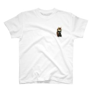 クロハラハムスター T-shirts