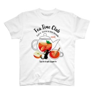 黒猫のティータイムクラブ T-shirts