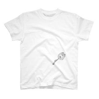 小脇にデグー T-shirts