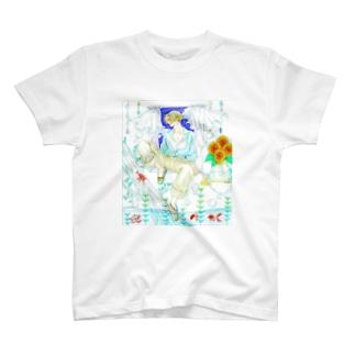 夏の少年 T-shirts