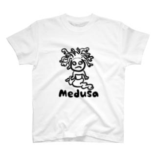 ゆるかわメデューサ T-shirts