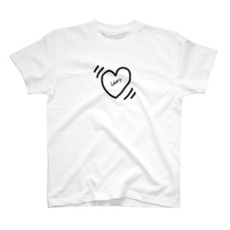 ぴーちぴーちのしんぞう T-shirts