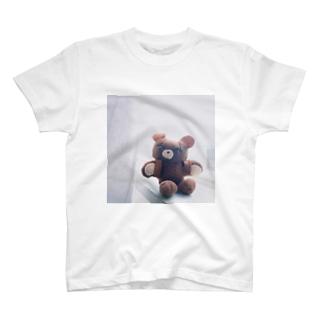 くま(手作り) T-shirts