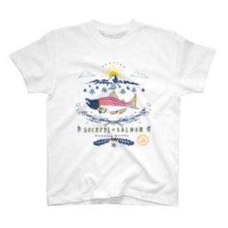 ベニシャケの帰還 T-shirts