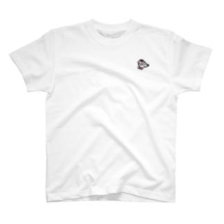 さりげなくミニ桜文鳥 T-shirts