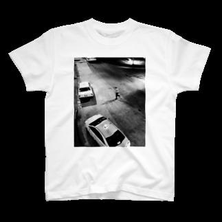 TOMOYA_9991006の横断 T-shirts