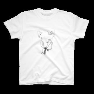 まいにょろ商店のクロッキーの時間 T-shirts