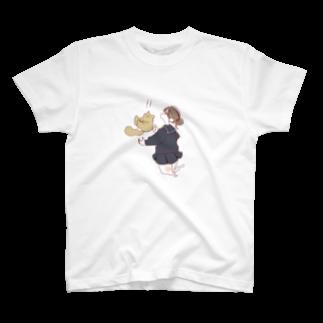 warawarararaのおちてるねこ T-shirts