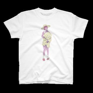 ヨAのONI T-shirts