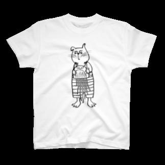 tottoのおじさまネコ(クラゲ) T-shirts