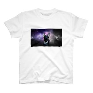 宇宙犬 T-shirts