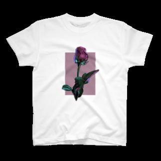 かすみ草のFlower-R T-shirts
