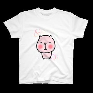 まめ@ゆるふわおもろ発見隊のカピバラ? T-shirts