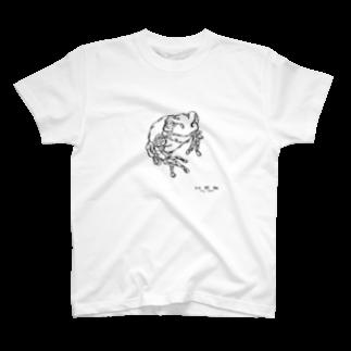 HELLL - ヘル - の左手で描いたカエルB T-shirts