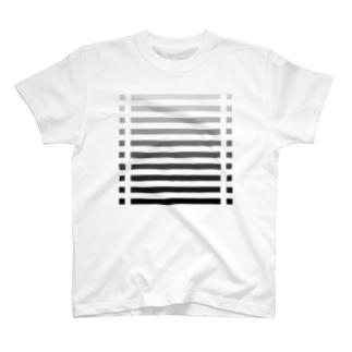 color bar - monochrome - T-shirts