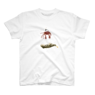 不遇なフグwithカニさん T-shirts
