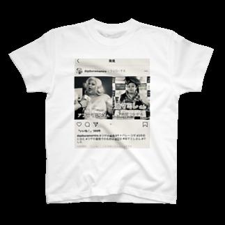 SADAHARU_ HIGA_HAUTE COUTREのSADAHARU HIGA HAUTE COUTURE・アムロにはなれなかったけどトシミ〜にはなれた女装5。  T-shirts