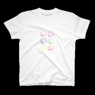 ドブのいぬちゃんたち T-shirts